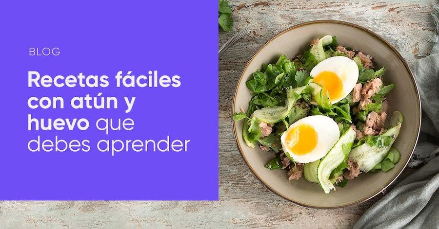 Recetas fáciles con atún y huevo que te harán ir a la cocina ahora mismo