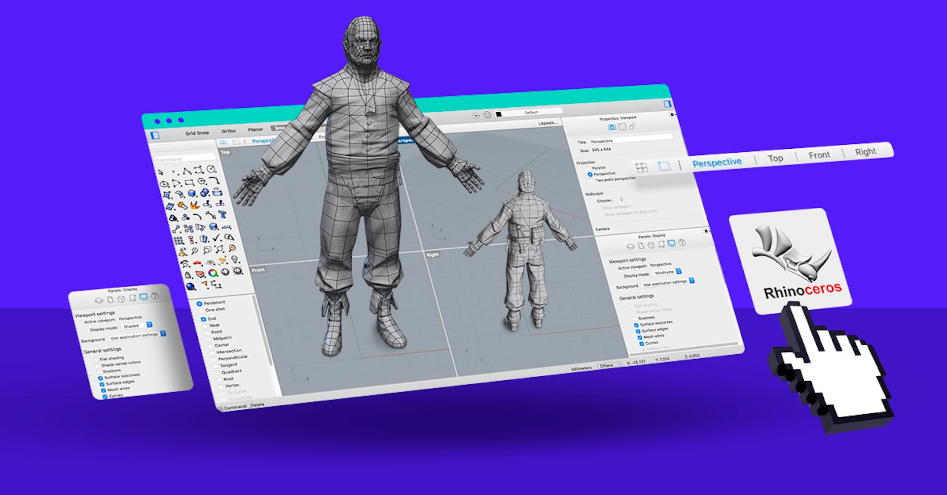 ¿Qué es Rhinoceros 3D y por qué deberías usar esta herramienta en tus diseños?