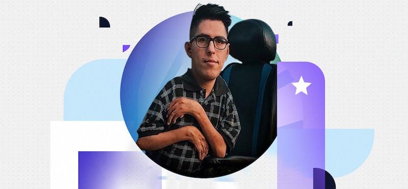 """""""Si yo puedo, tú puedes"""", la frase con la que Andrés Picón motiva a otros a salir de la zona de confort"""
