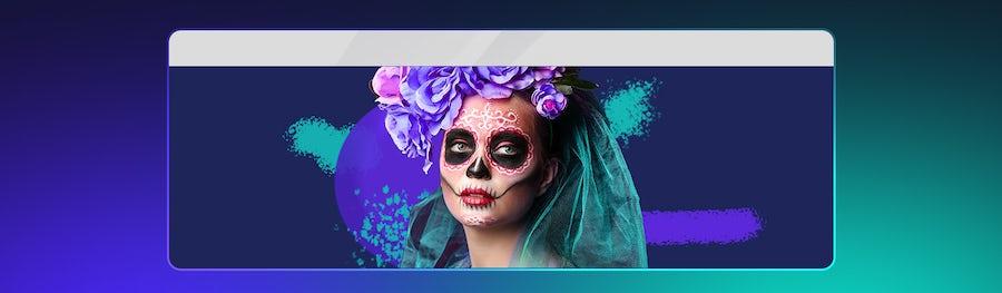 ¡Aprende cómo maquillar una catrina mexicana! Tutorial paso a paso