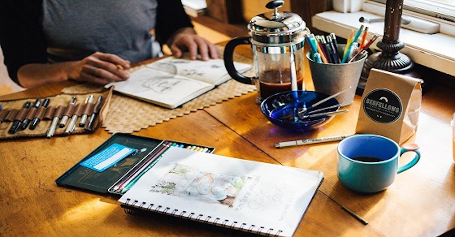 ¿Qué es un boceto? Descubre cómo convertirte en un gran artista