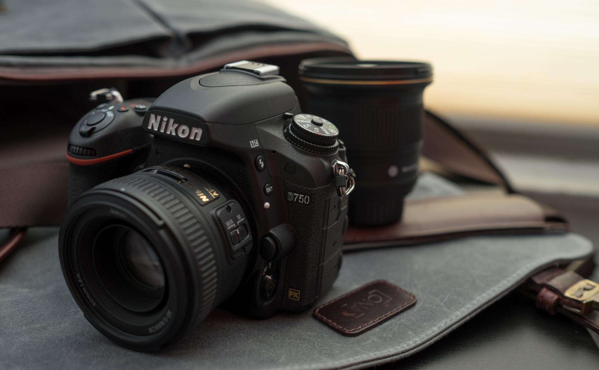 Mejores cámaras fotográficas profesionales: Nikon D750
