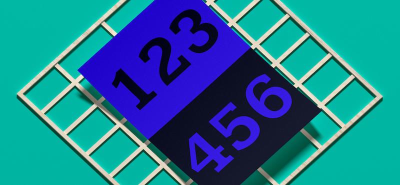 Las mejores tipografías de números ¡Nunca más volverás a usar Arial!