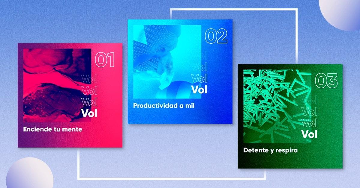 3 playlists para esta cuarentena by Team Crehana