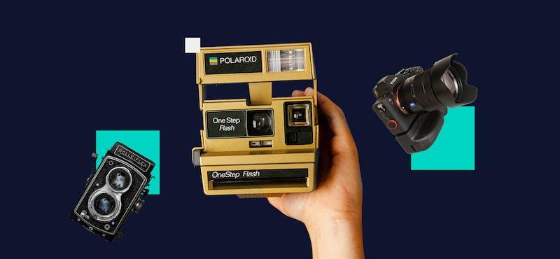 La evolución de la cámara fotográfica: 8 cámaras y cómo han cambiado en la historia
