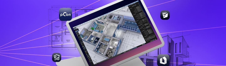 Los 5 programas para diseñar casas que son más fáciles que AutoCAD