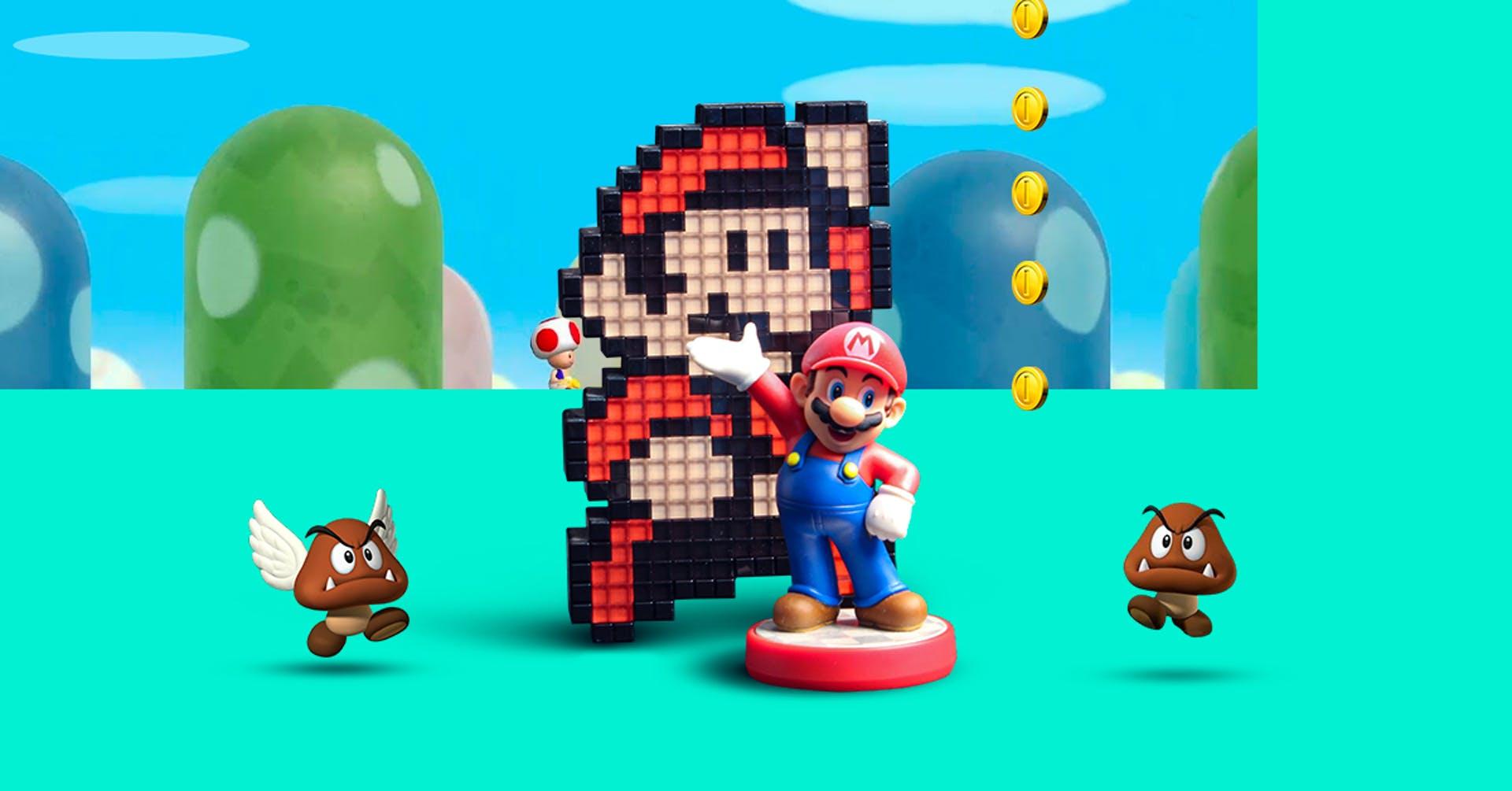 La evolución de Mario Bros en el transcurso de los años