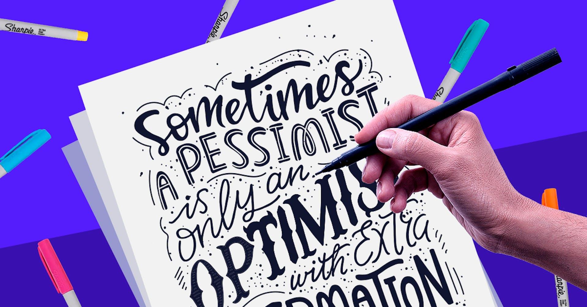 ¿Cómo hacer lettering y crear frases con fonts inolvidables?
