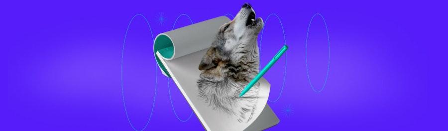 ¿Cómo dibujar un lobo realista? Aprende paso a paso y conviértete en dibujante experto