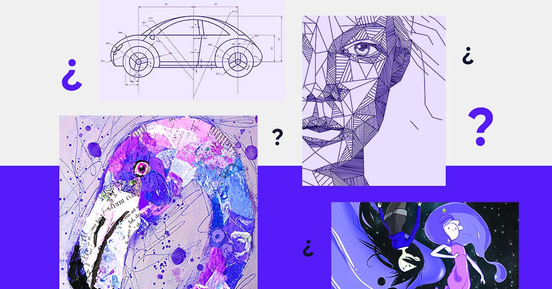 Tipos de dibujo: el arte de plasmar en papel diferentes realidades