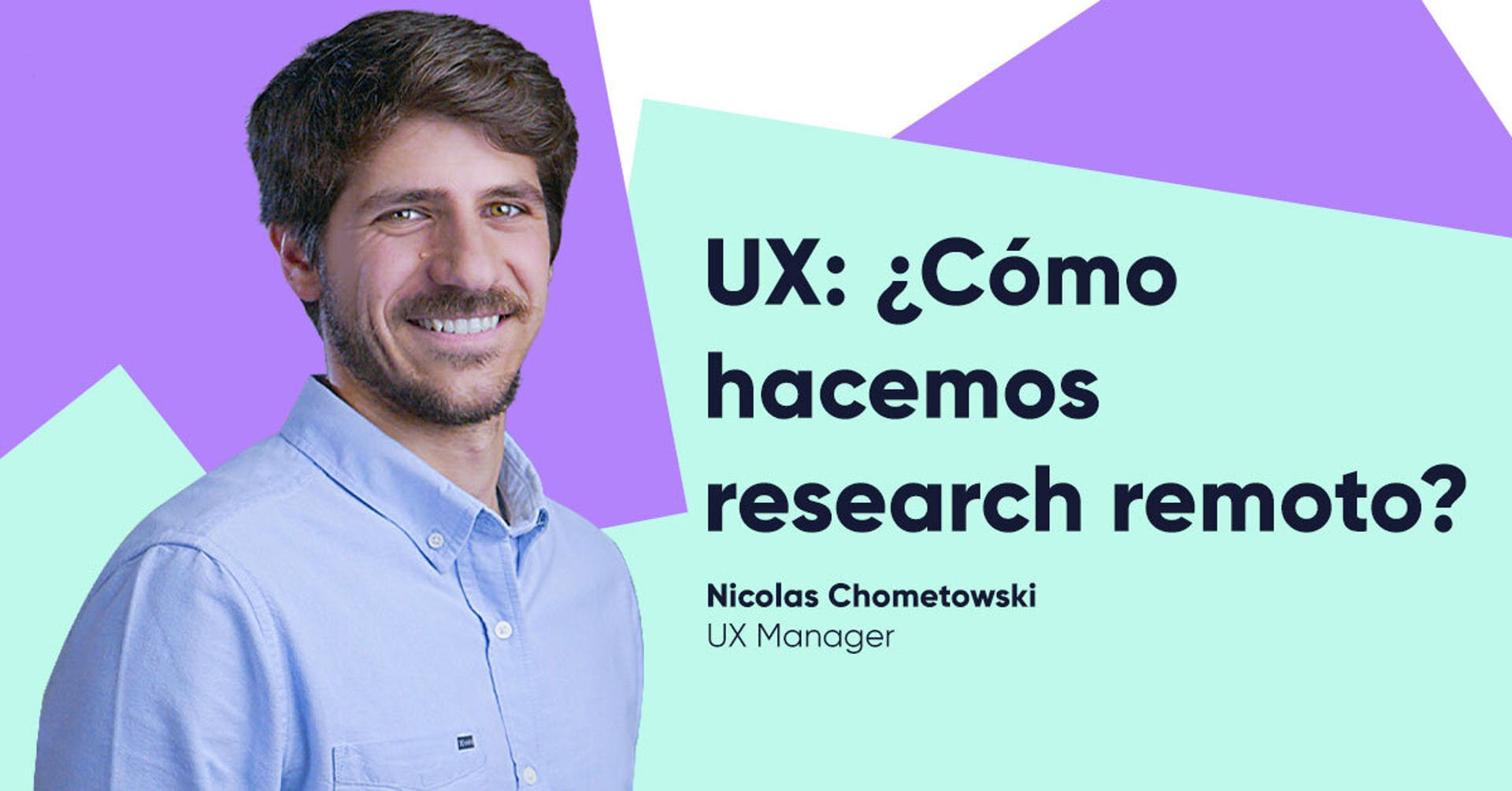 ¿Cómo hacemos UX research remoto?