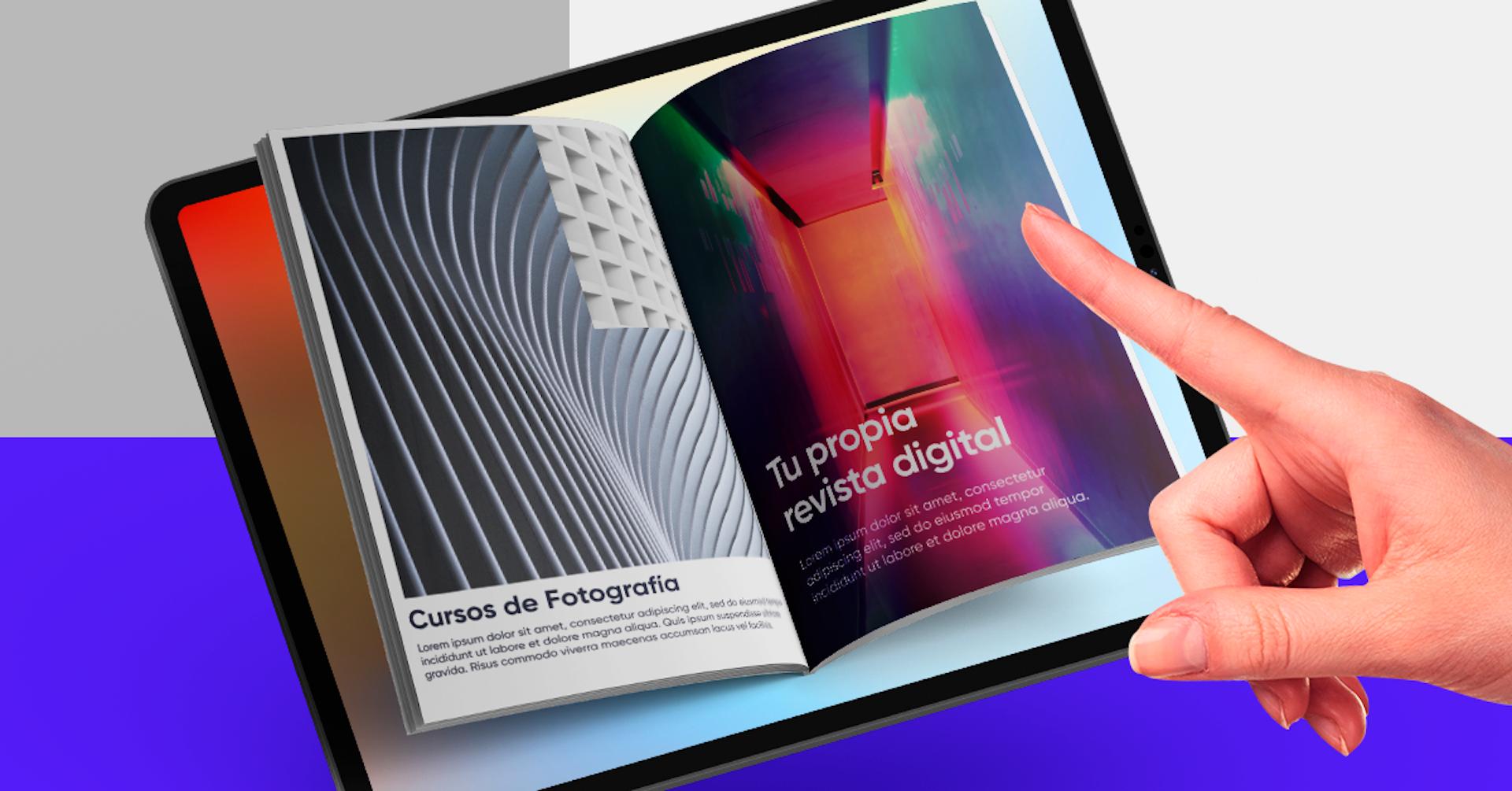 ¿Cómo hacer una revista digital? Diseña la que siempre quisiste en 7 pasos