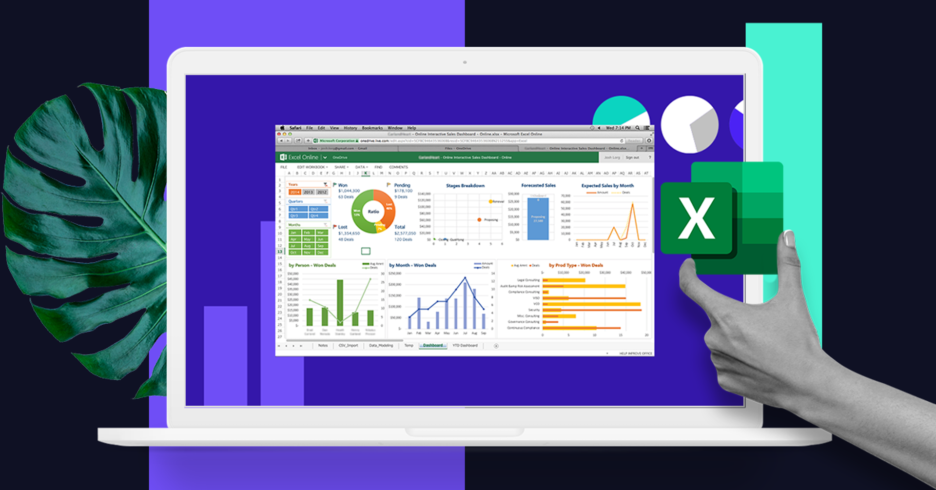 Dashboard en Excel: el recurso ideal para un tablero de negocios magistral