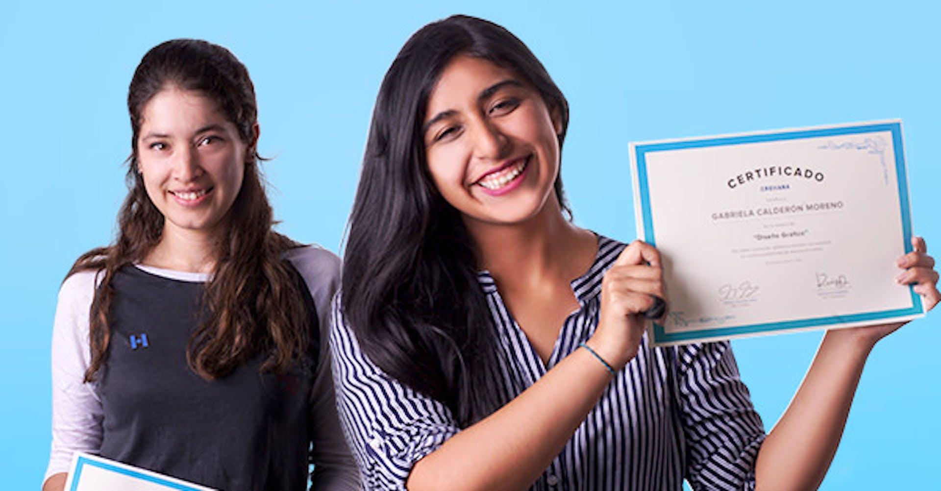 Historias Crehana: dos alumnas que nunca perdieron de vista su meta