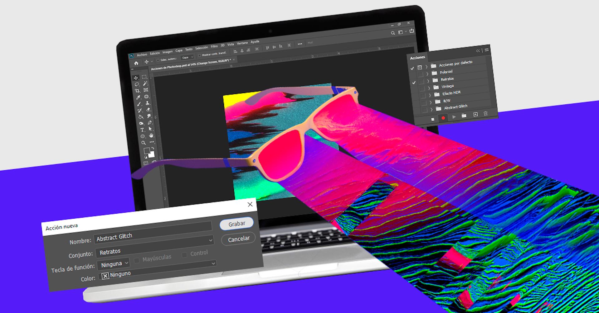 Descarga +250 acciones para Photoshop y edita más rápido que Flash