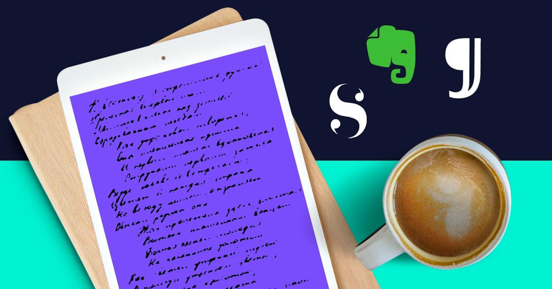 +15 aplicaciones para escribir libros como todo un autor de best sellers