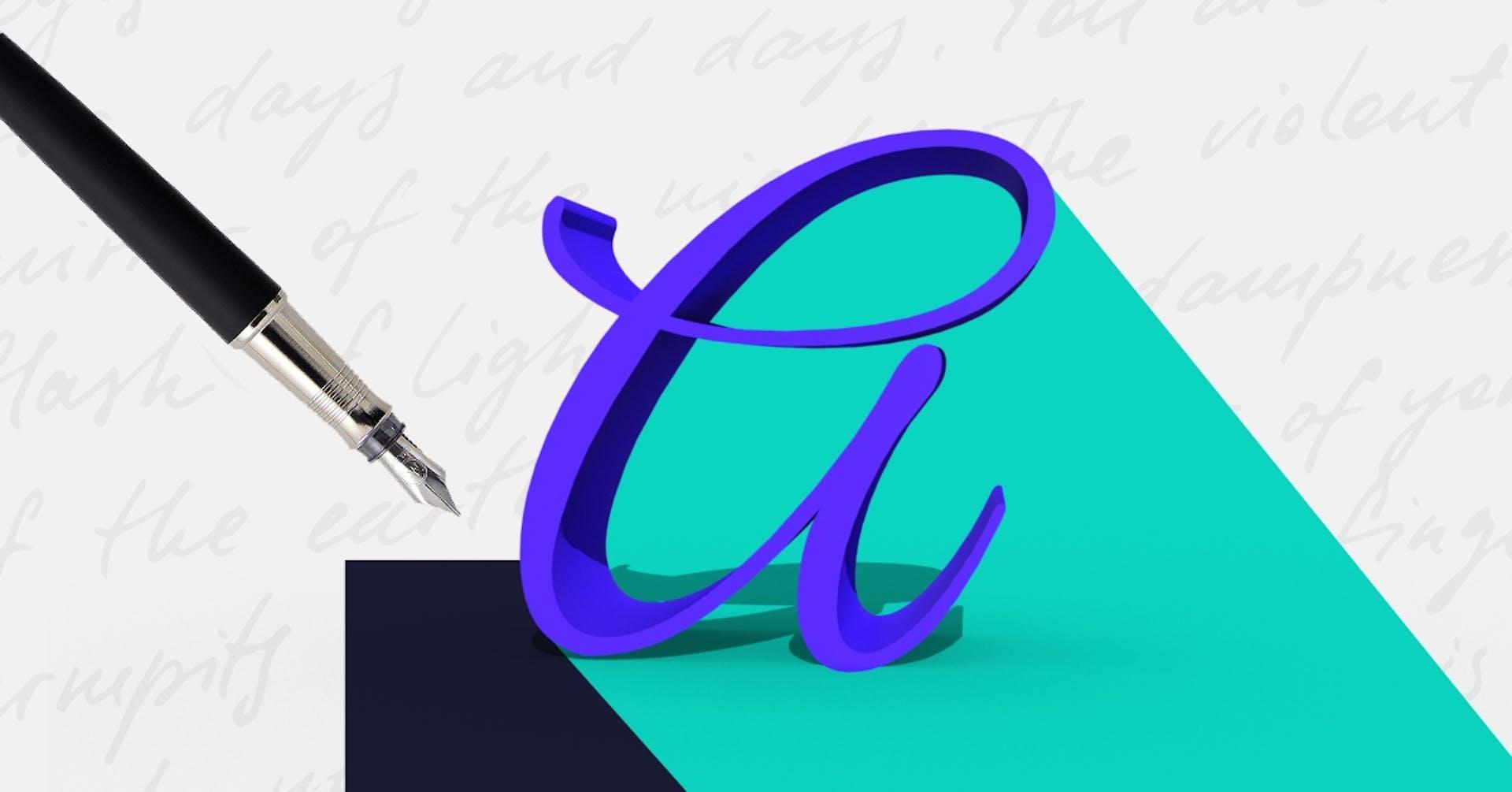 Secretos de la caligrafía artística para que tu letra sea excepcional