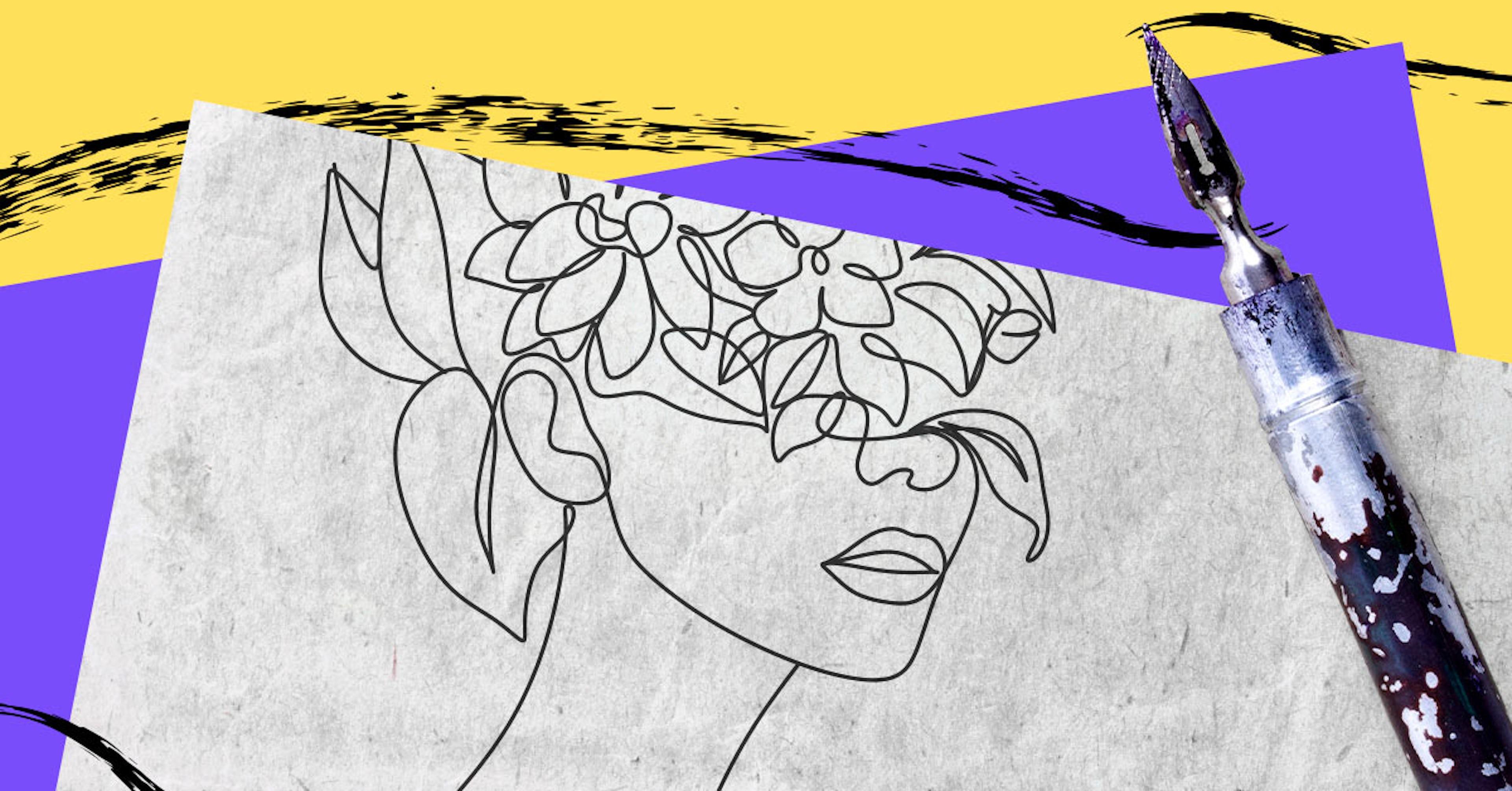 Del lápiz a la tinta: Tips rápidos para entintar tus dibujos