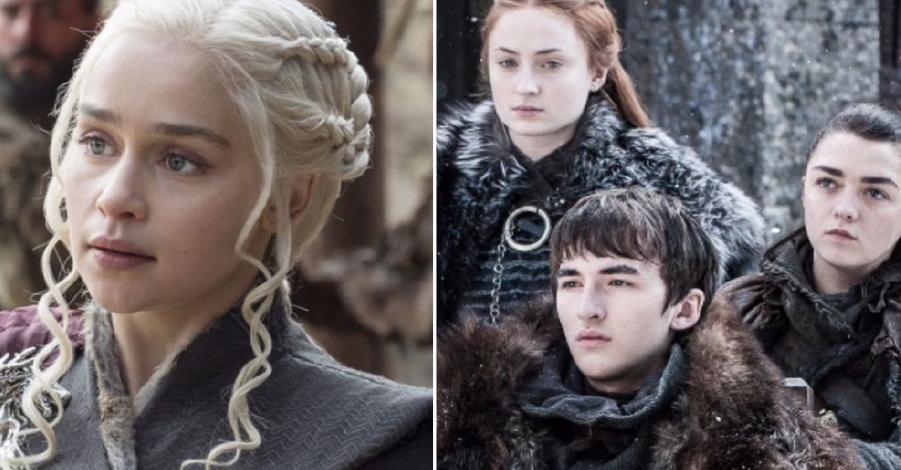 Animación que resume 4 temporadas de Game of Thrones