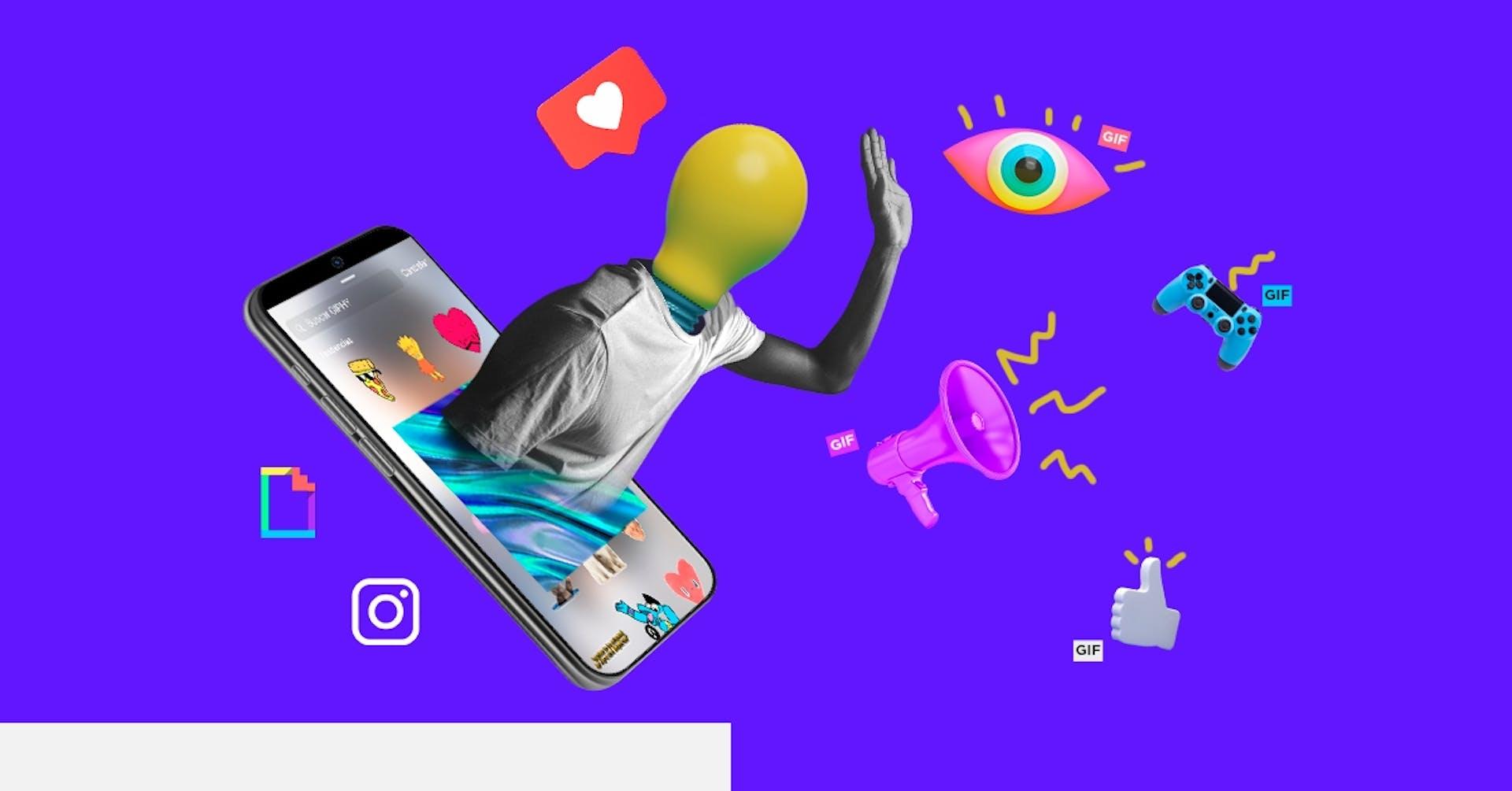 ¿Cómo hacer un GIF para Instagram y volverlo viral?