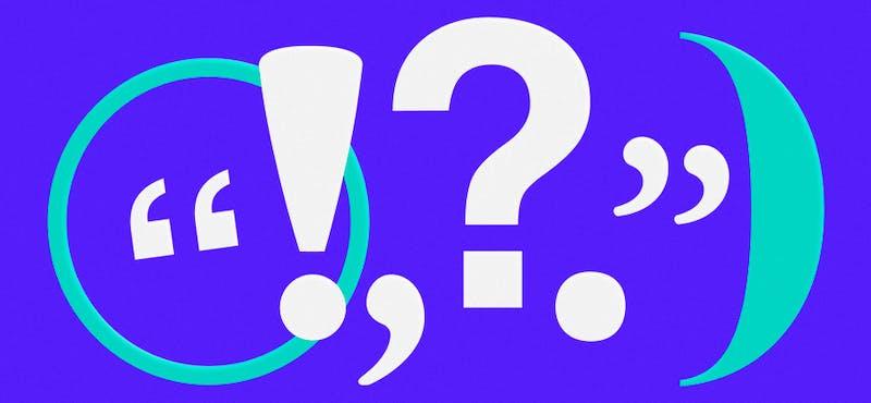 ¿Qué son los signos de puntuación? El secreto para ser un redactor ninja