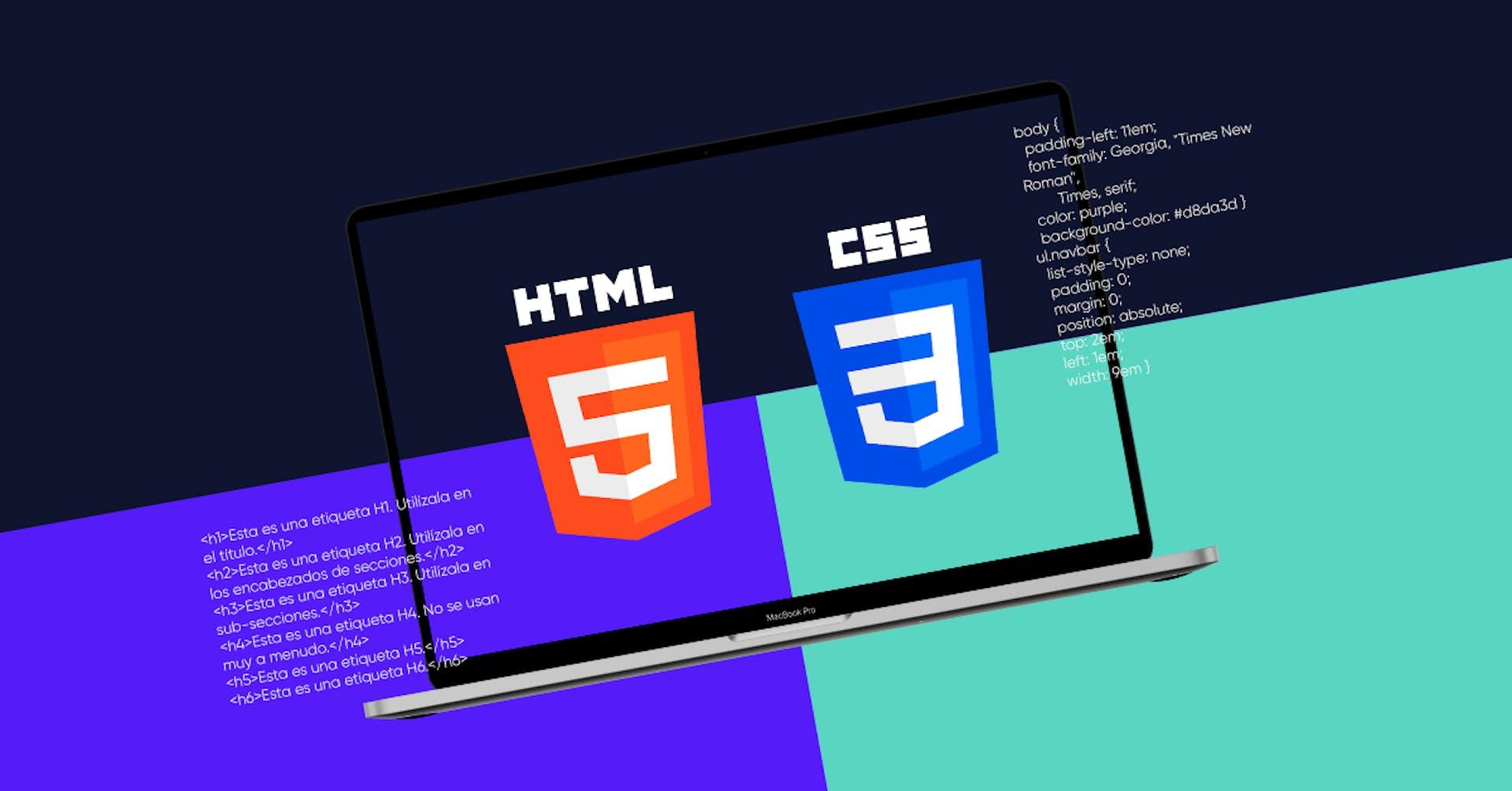 HTML y CSS: los poderosos lenguajes informáticos para crear una página web