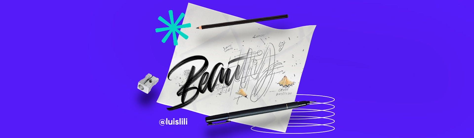 Materiales de lettering: arma tu kit y dibuja tus primeras letras