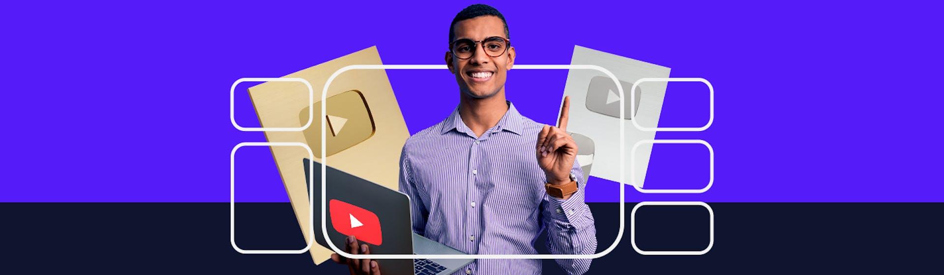 Conoce las características de un youtuber y consigue tu primera placa de YouTube este 2021