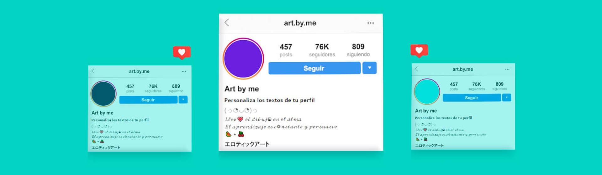 Letras para Instagram: ¿cómo cambiar la letra de mi bio y mis publicaciones?
