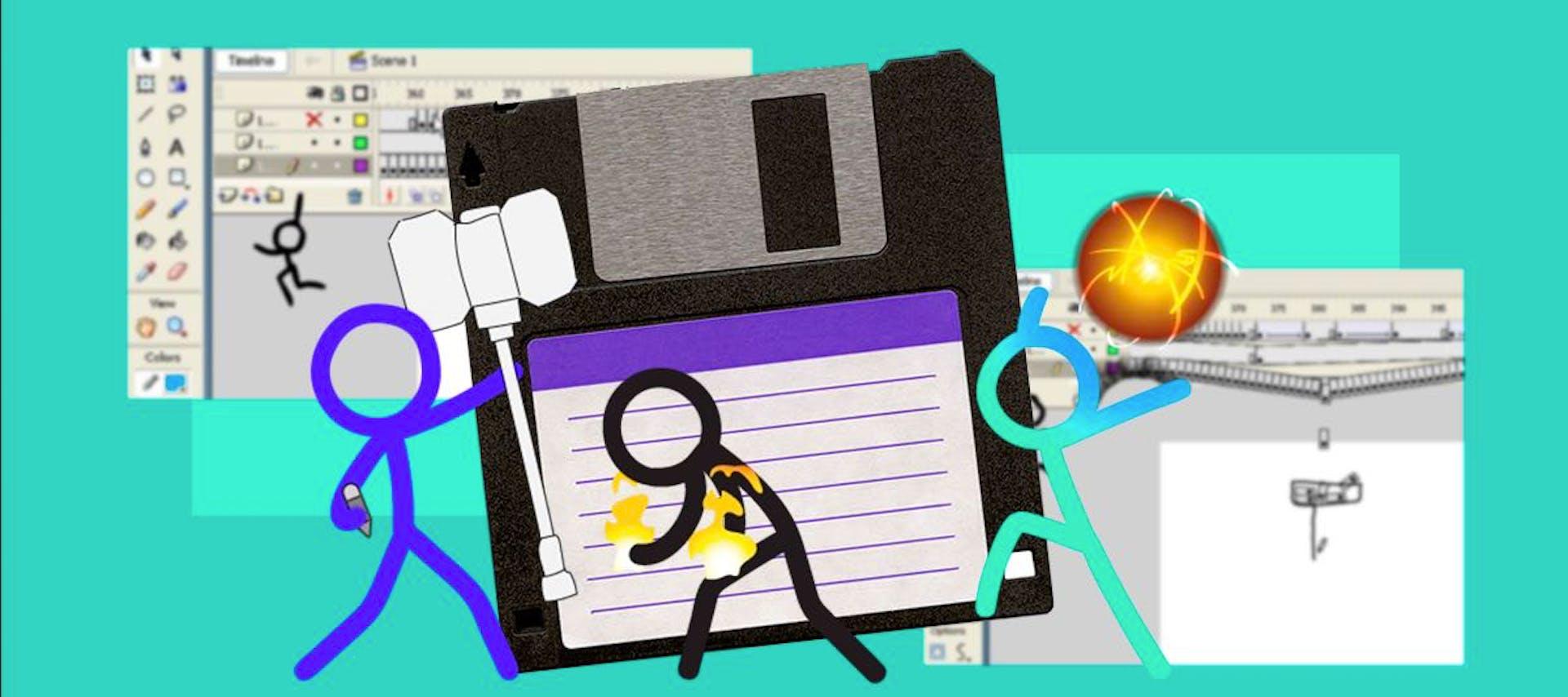 """Animator vs. Animation, Alan Becker y sus """"figuras de palo"""" animadas desde 2006"""