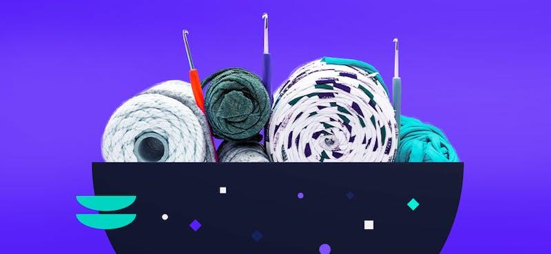 Estos son los tipos de hilo crochet que necesitas para tejer mejor que tu abuelita