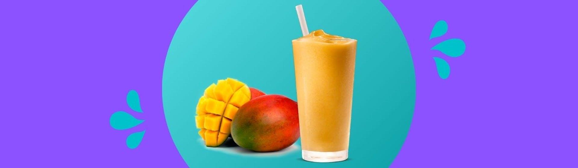 Cómo hacer un smoothie de mango y sorprender a tus comensales