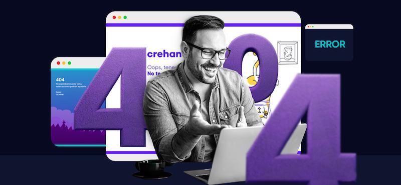 +30 páginas de error 404 que te dejarán impresionado de tanta creatividad