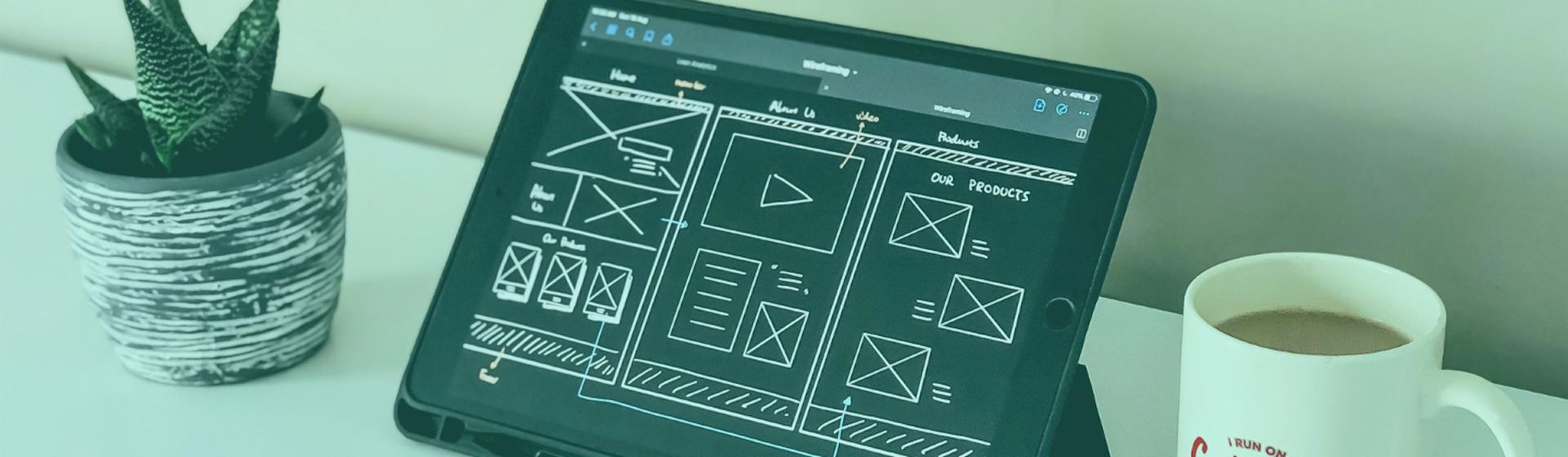 ¿Cómo hacer un boceto de una página web?: ahorra tiempo y dinero con un wireframe