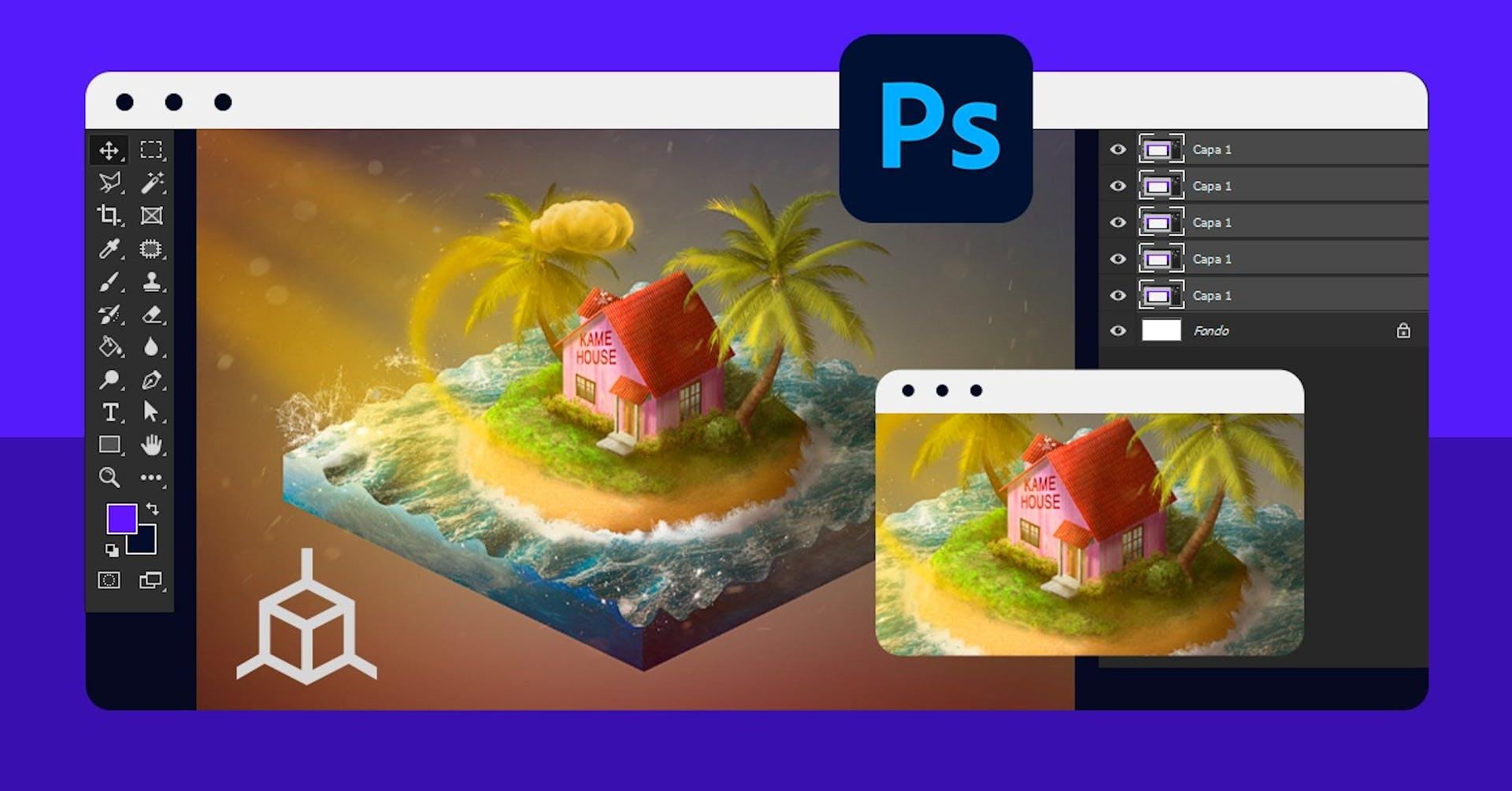 ¡Crea piezas increíbles en Photoshop con la técnica del Iso-painting!