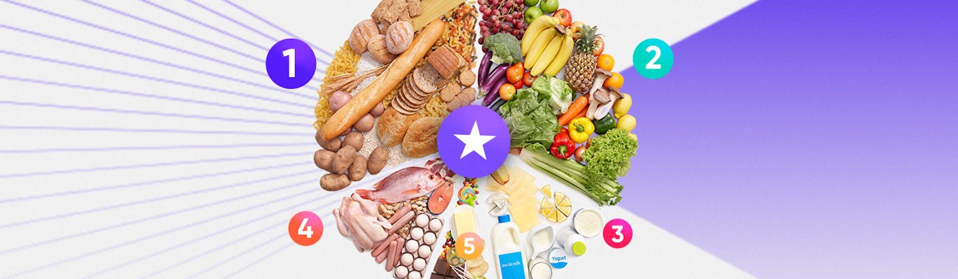 Diferentes tipos de comida: ¿por qué es indispensable mantener una dieta equilibrada con 5 grupos de alimentos?