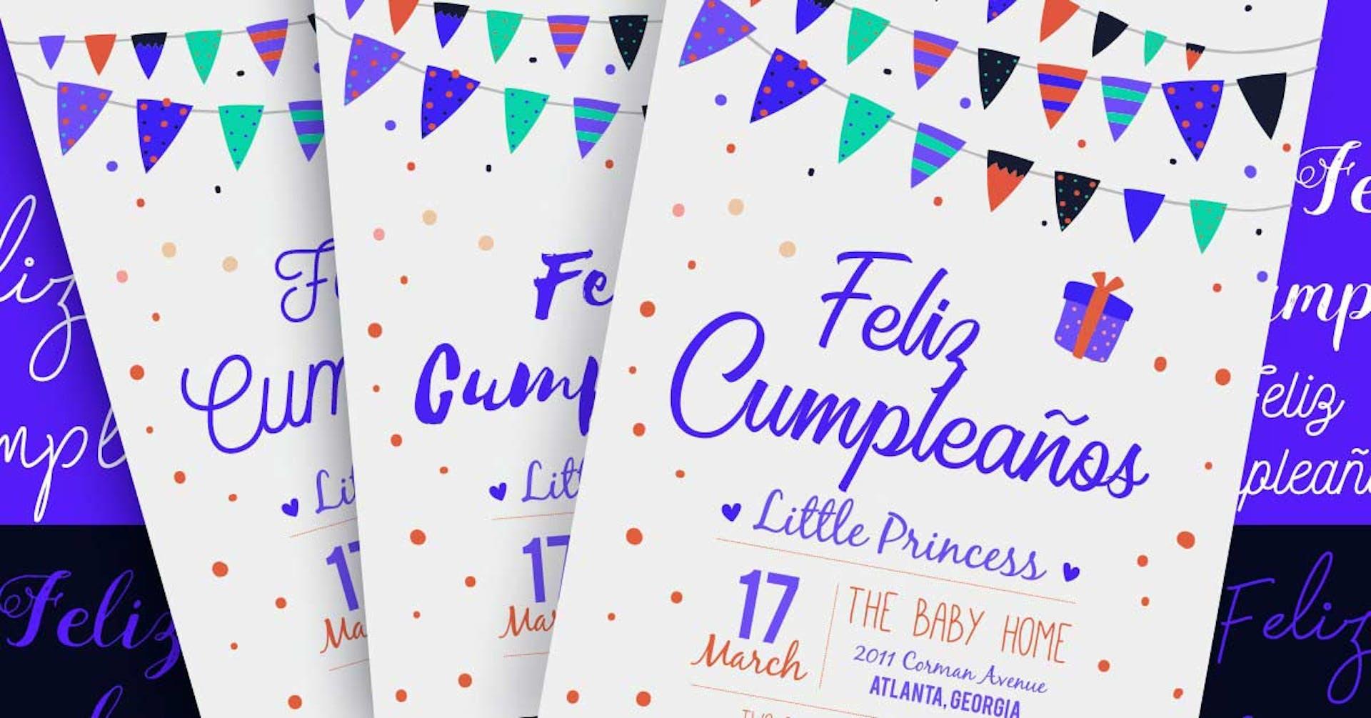 40 tipos de letras para invitaciones: ¡nadie se querrá perder tu fiesta!