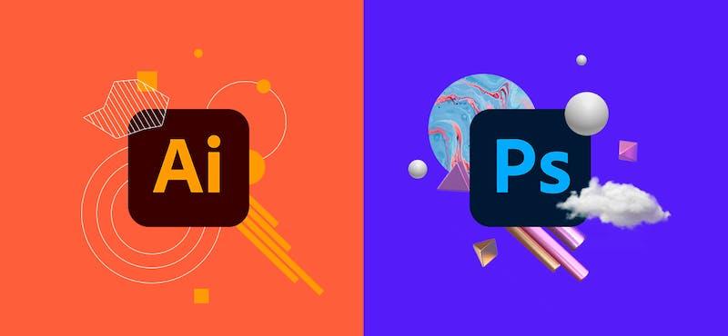 Illustrator vs Photoshop:  ¿cómo elegir el mejor programa de diseño sin hacer TA-TE-TI?