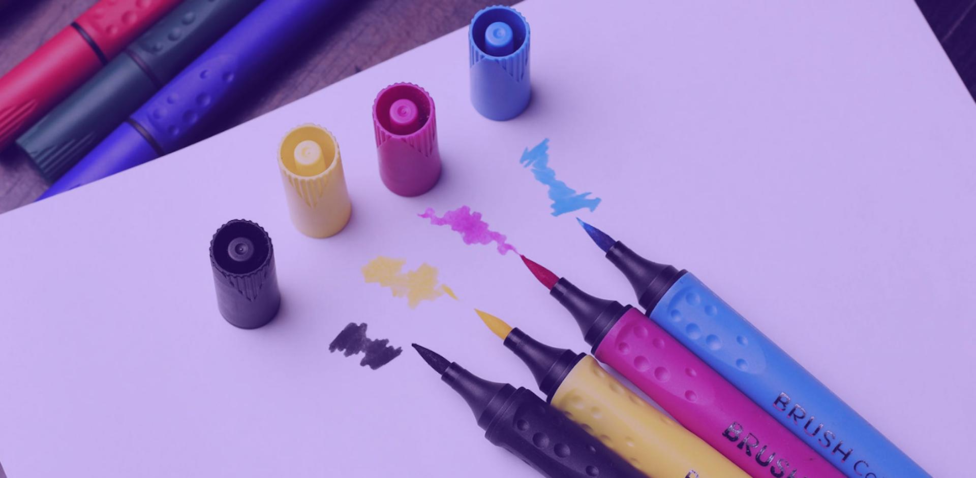 ¿Cómo dibujar con marcadores? Aprende todo sobre estas herramientas