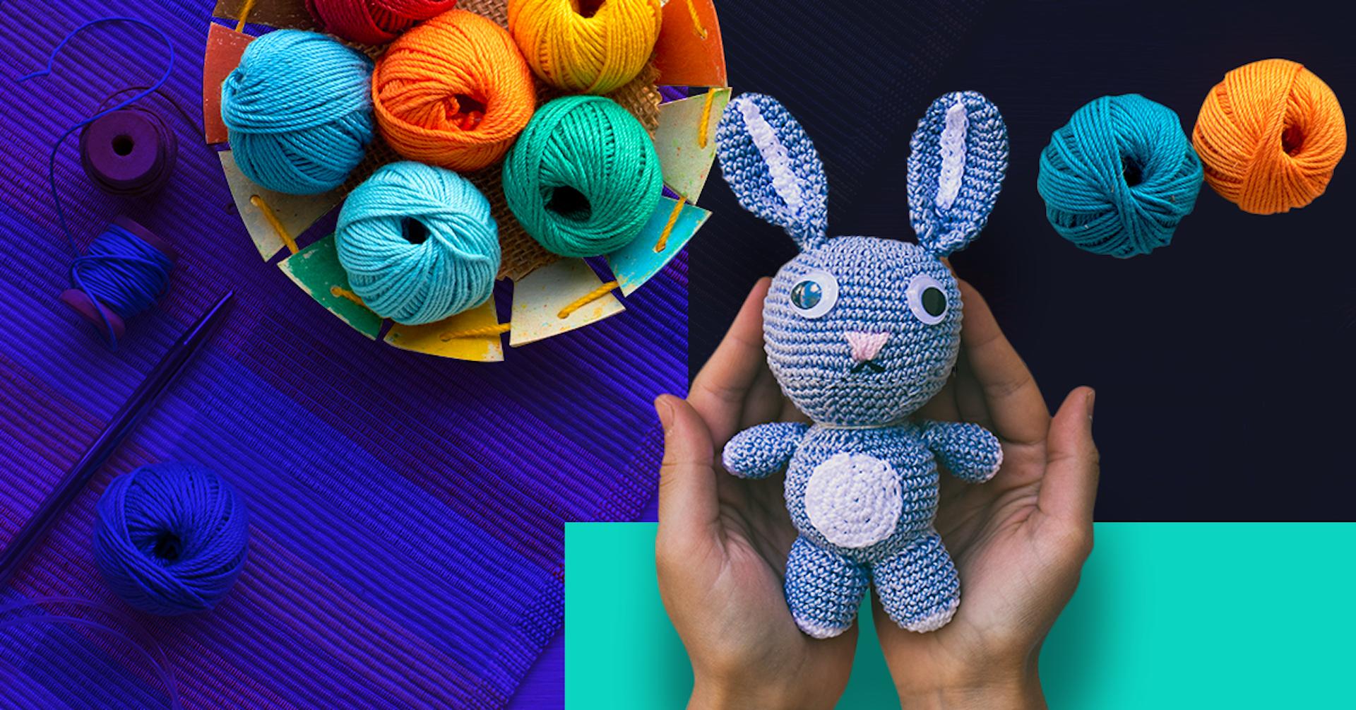 5 ideas originales de manualidades a crochet: bienvenido al mundo DIY