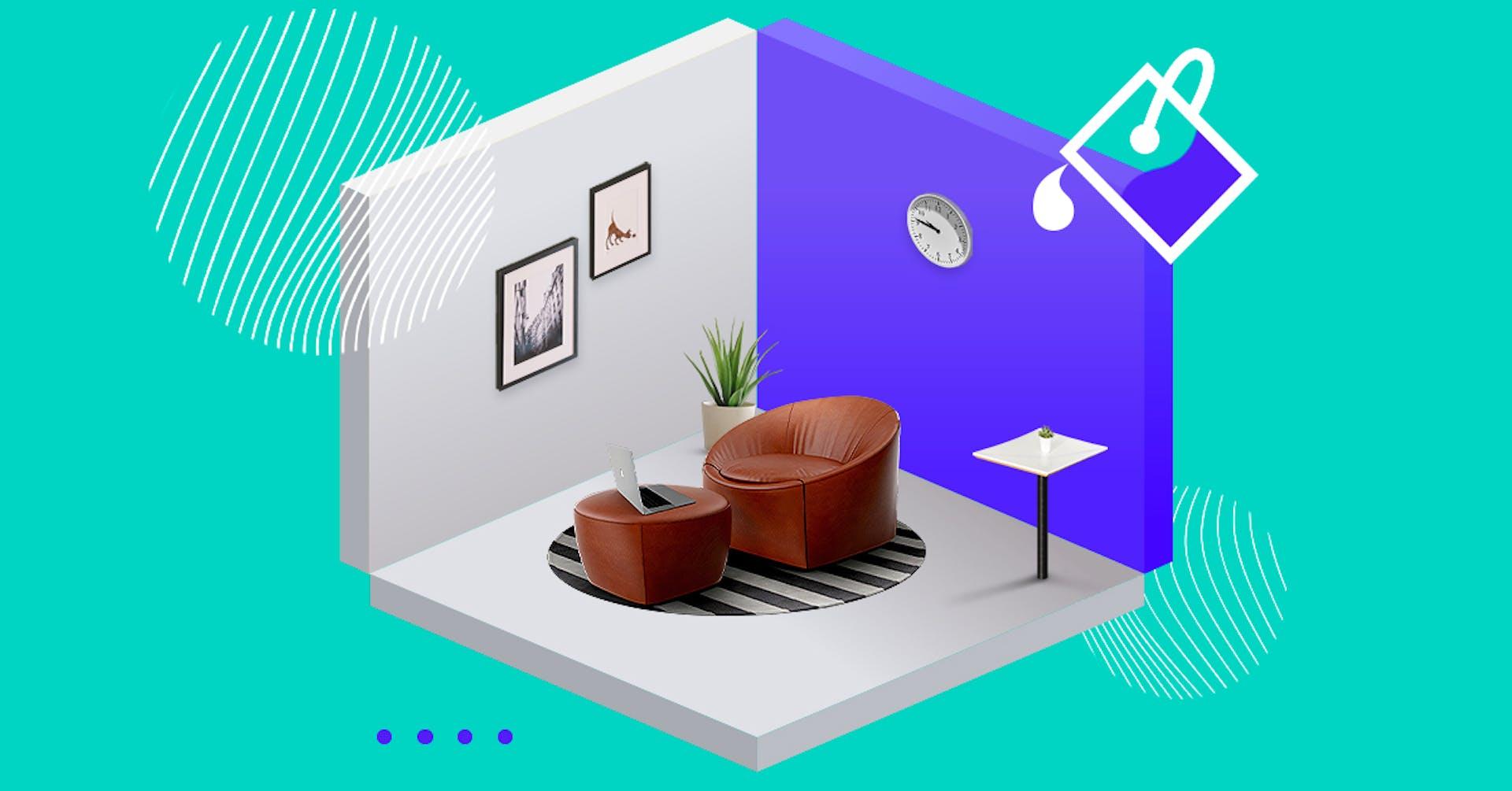 Guia de cores para interiores de casas pequenas