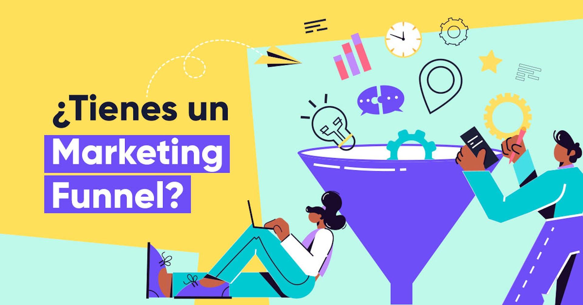 Marketing funnel: Guía para principiantes que quieren aplicarlo a su negocio