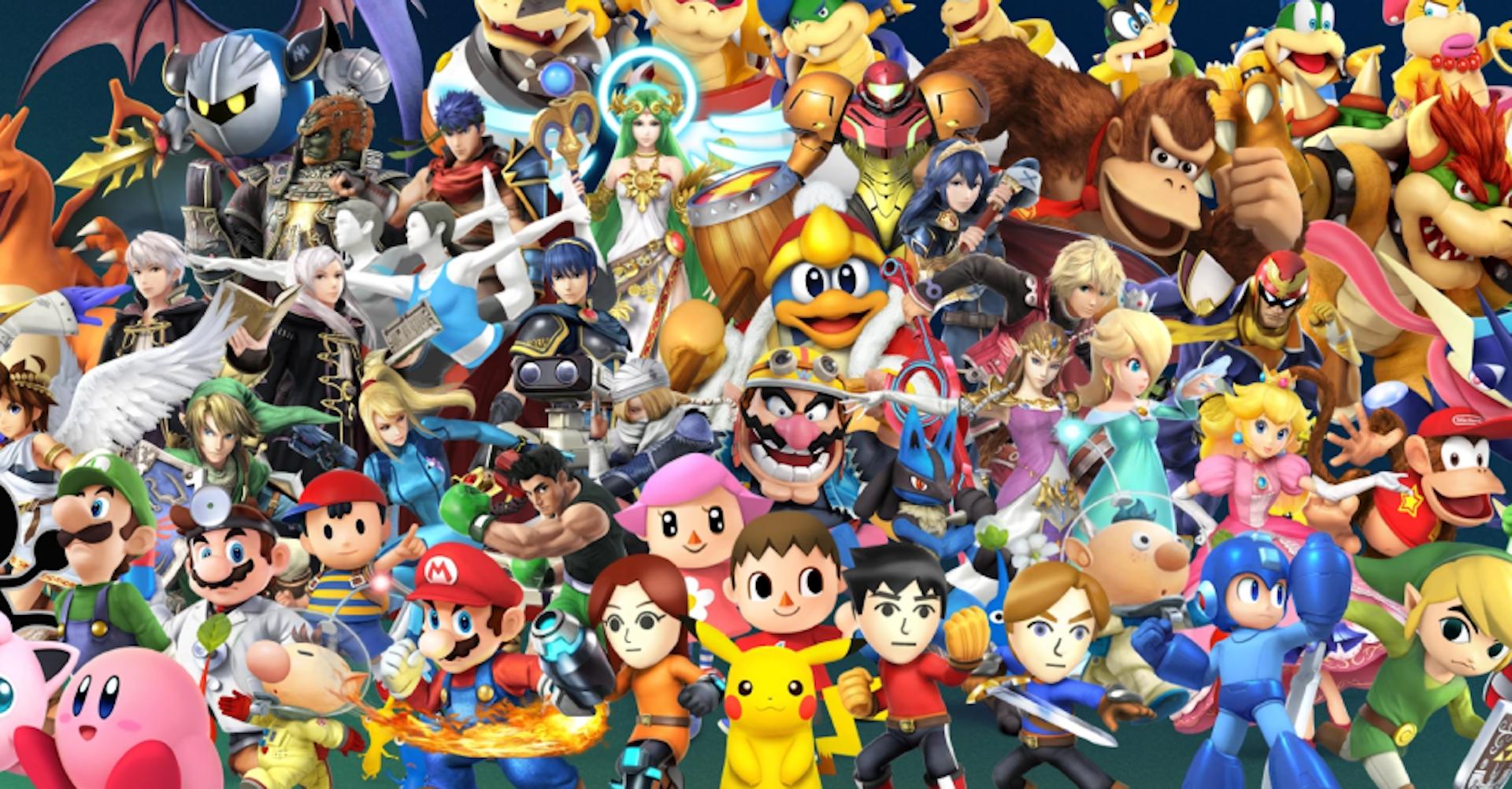 Comparación de escenarios Smash Brothers 64 vs Nintendo Switch