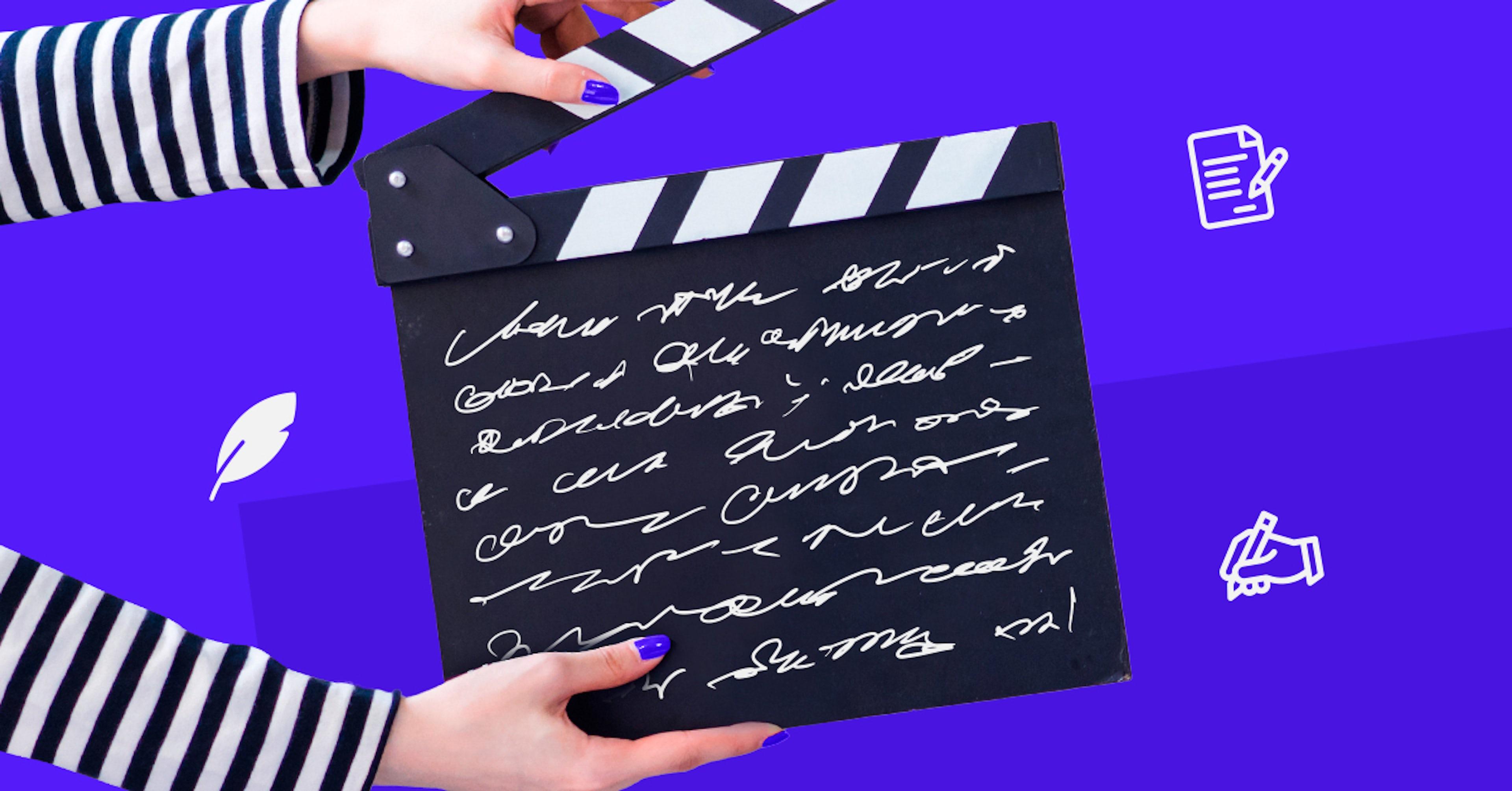 ¿Cómo escribir un guión de cine? Crea una historia audiovisual impactante