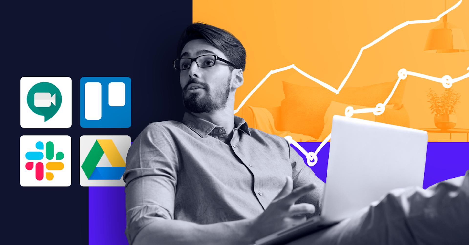 Conoce 10 herramientas digitales para mejorar la productividad en el trabajo remoto