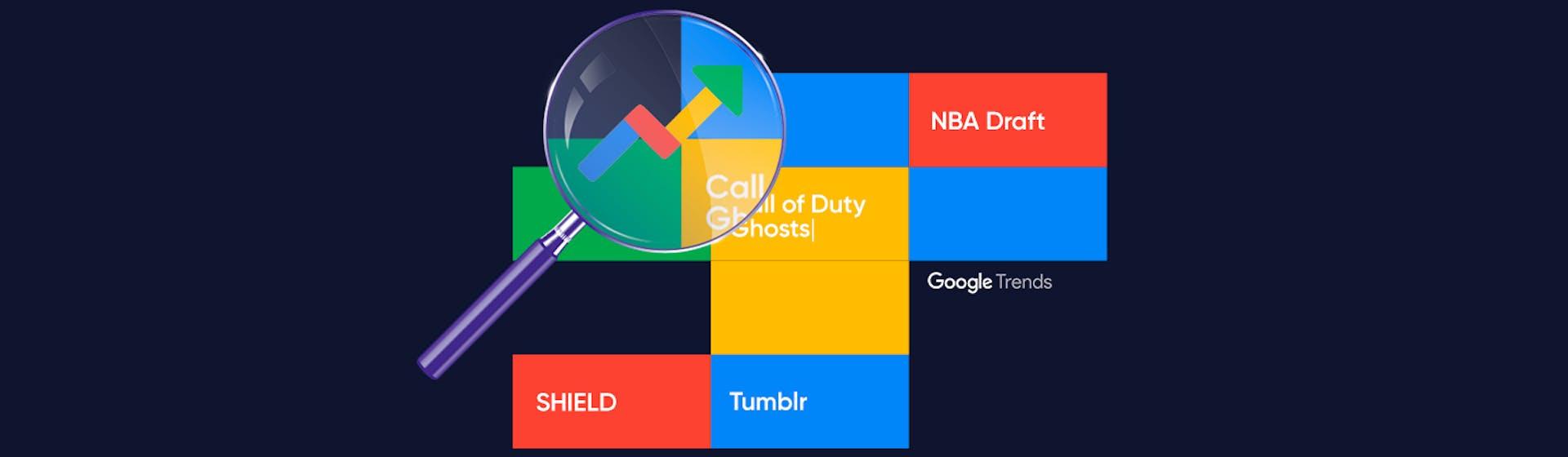 Utiliza Hot Searches de Google Trends para crear mejores contenidos