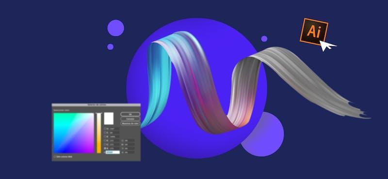 ¿Cómo colorear en Illustrator? Crea proyectos sorprendentes llenos de color
