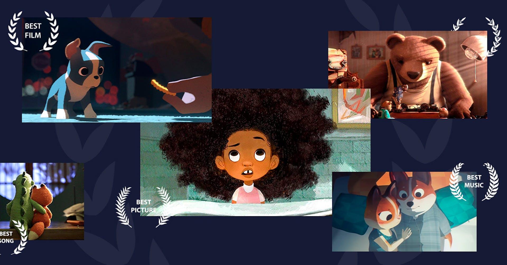 Curtas animados para inspirar seus projetos 2D e 3D