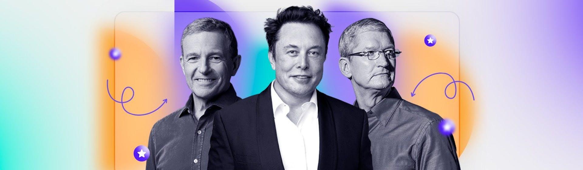 Tipos de liderazgo empresarial. ¿Cómo dirigen sus empresas los CEOs más famosos del mundo?