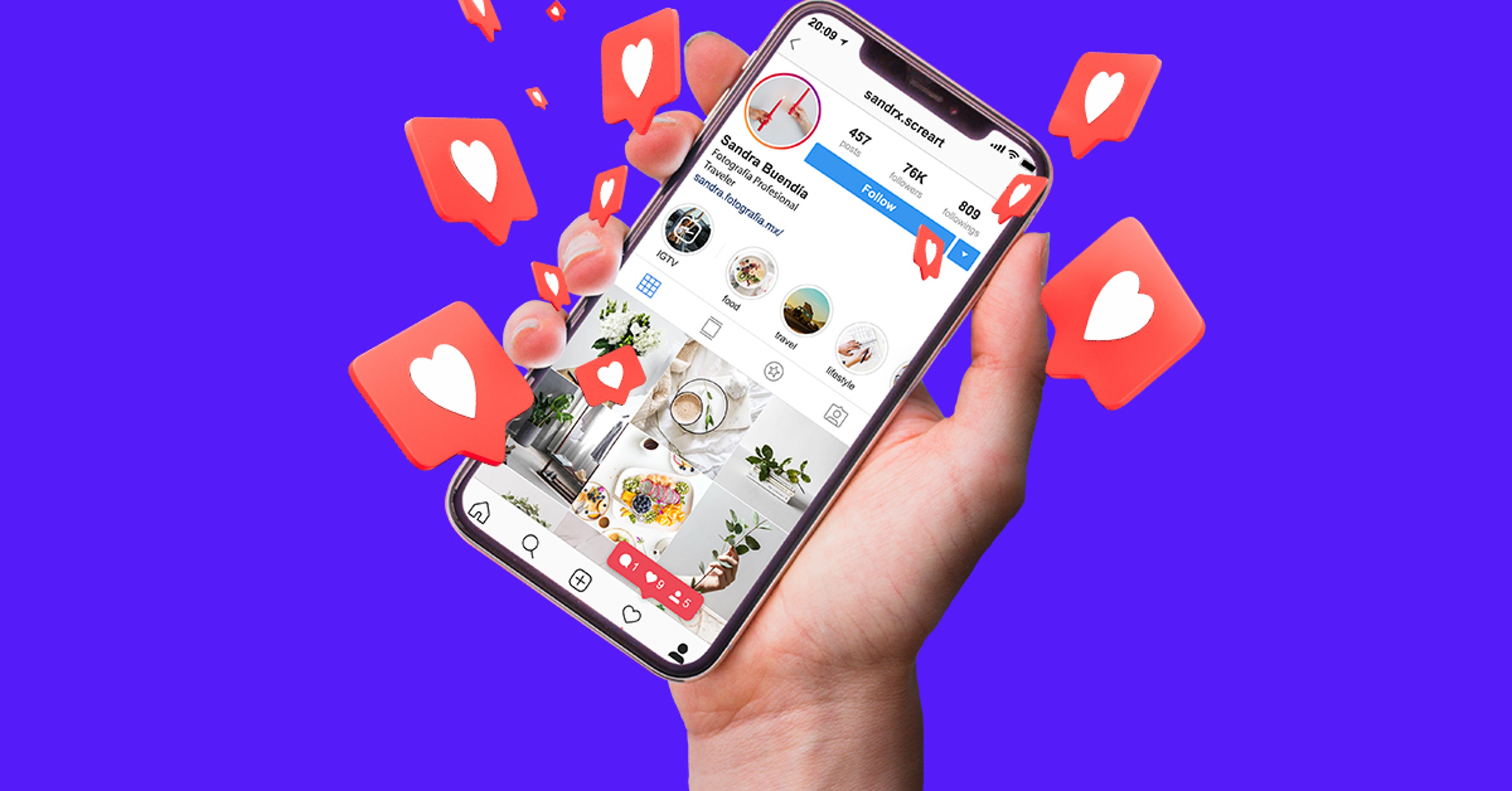 El Behance de las redes: Crea tu portafolio digital en Instagram